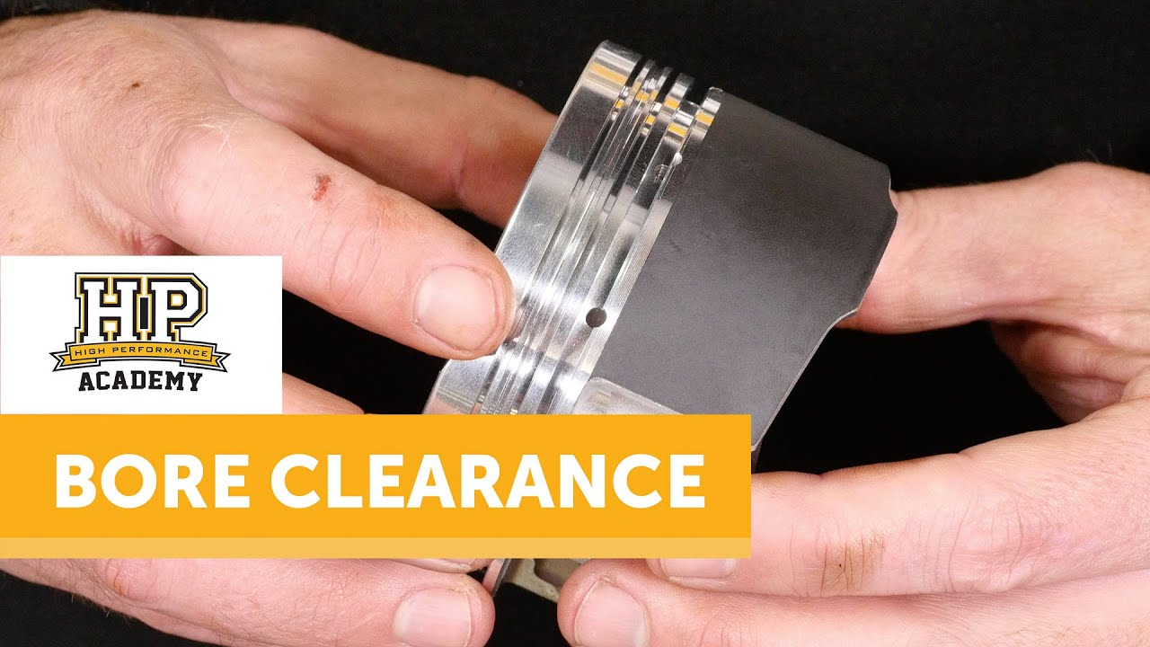 EXCESSIVE Piston to Bore Clearance?