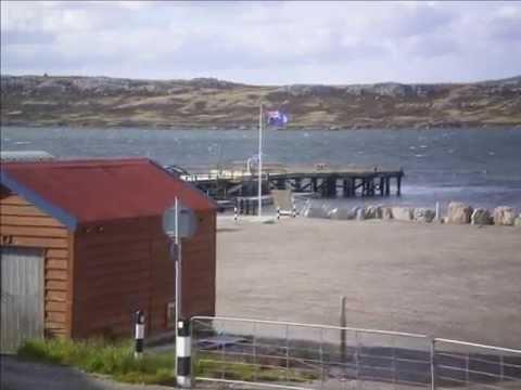 Islas Malvinas // Falklands Islands. Vuelo Sanitario. Air Class-Suat-Uruguay