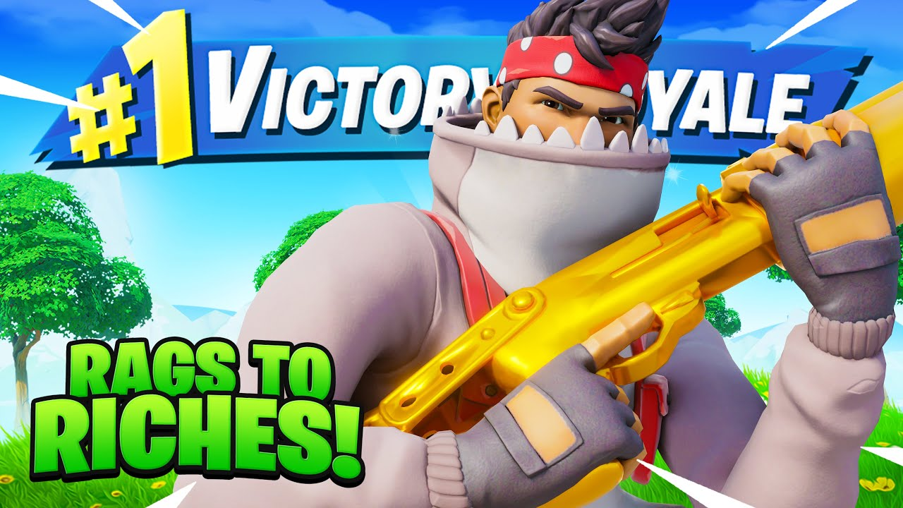 Download Destroying in Rags to Riches! (Solo VS Squads)