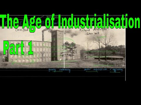 Class 10 History- The Age of Industrialisation Part 1