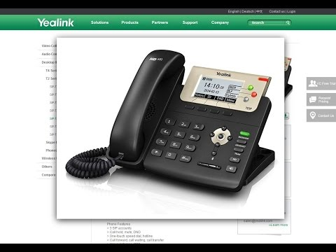 VoIP-Telefon Yealink an AVM Fritz!Box anmelden