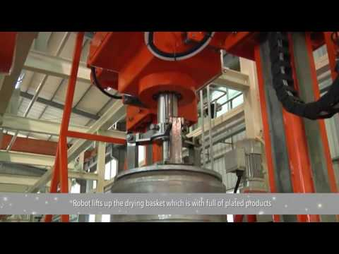 Hardware Electroplating Equipment — Rack Plating