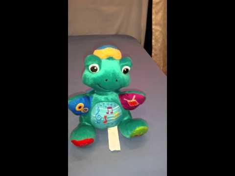 Baby Einstein musical turtle plush toy