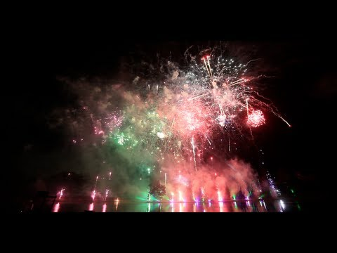 Alton Towers FIREWORKS 2nd November 2012 - Full HD BEST QUALITY