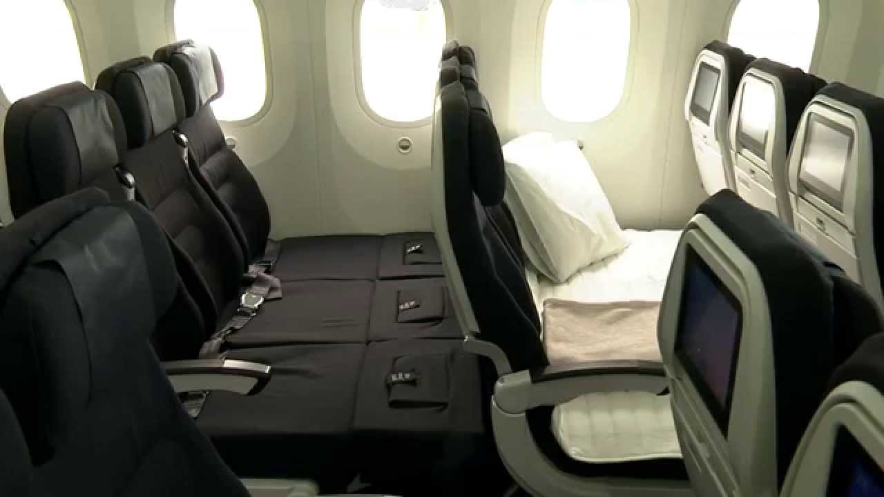Air New Zealand Boeing 787 9 Dreamliner Economy Class