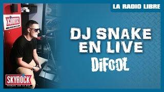 Mix de Dj Snake dans la Radio Libre de Difool !