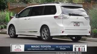 2015 Toyota Sienna Review | Magic Toyota - Toyota Dealer in Edmonds, WA