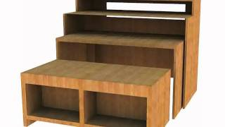 Universal Music Workstation Synth Computer Desk Dekitm Hammond Style Cabinet, Ikea
