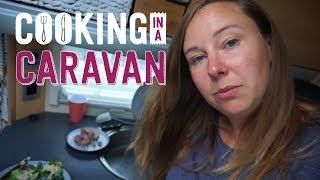 Cooking Meals in a Caravan Kitchen