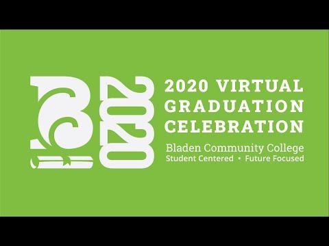 2020 Virtual Graduation Celebration - Bladen Community College