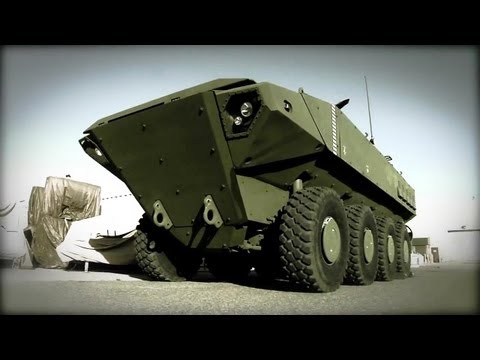 BAE Systems - SuperAV 8X8 Marine Personnel Carrier (MPC) Testing [720p]