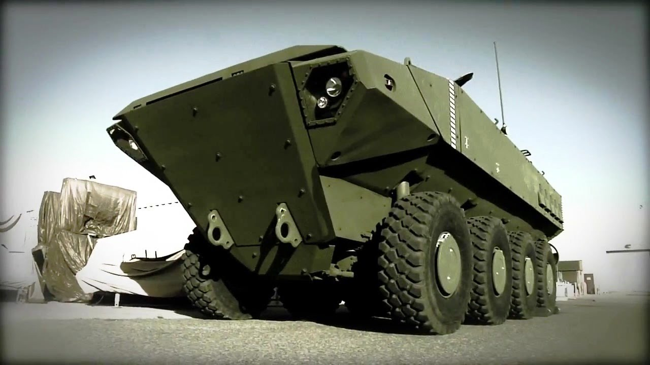 Bae Systems Superav 8x8 Marine Personnel Carrier Mpc