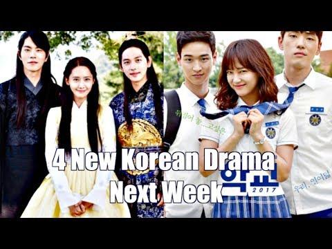 4 New Korean Drama Next Week