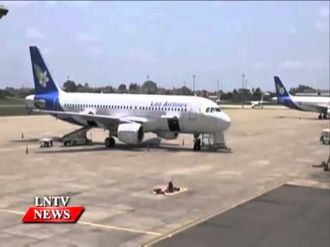 Lao NEWS on LNTV: Laos will need to build four new international airports .5/10/2015