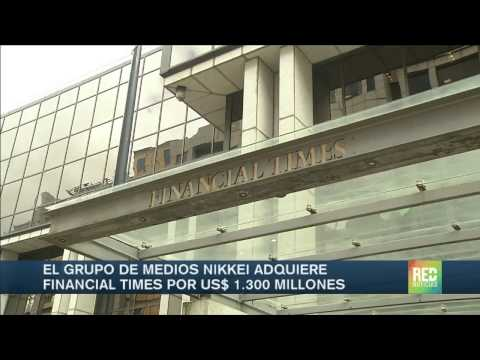 Medio Nikkei compró el Financial Times
