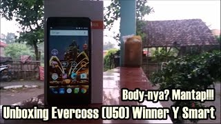 Video Unboxing Evercoss (U50) Winner Y Smart - 4G Multi opereator plus Desain mantap! download MP3, 3GP, MP4, WEBM, AVI, FLV Oktober 2018