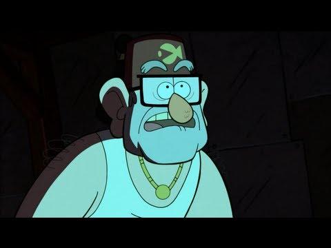 Gravity Falls - Stan's Secret Lair [HQ] (Season One - Finale)
