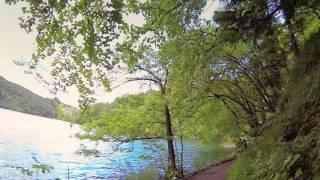 #9426, Caminar a la orilla del lago [Efecto], Paisajes naturales