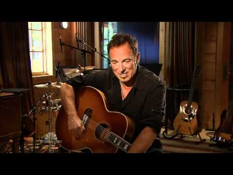 Talking shop with Bruce Springsteen