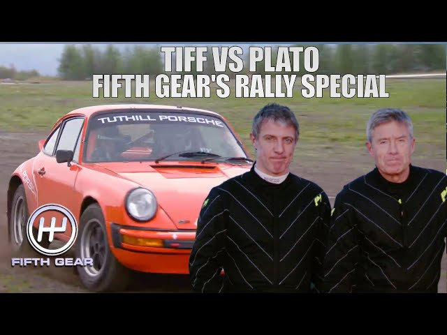 Tiff VS Plato: Fifth Gear's Rally Special | Fifth Gear Classic