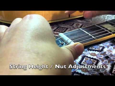 Advanced Music  Guitar tuning & maintenance Kenji