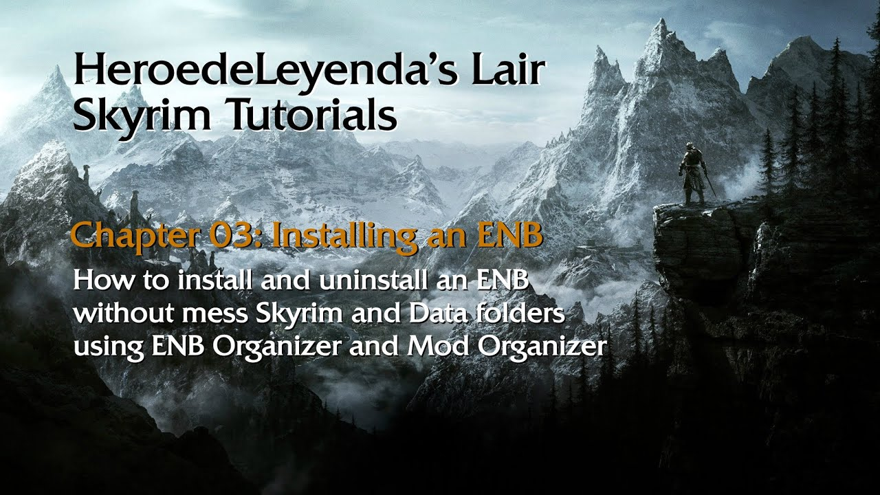 How To Install: How To Install Enb Skyrim