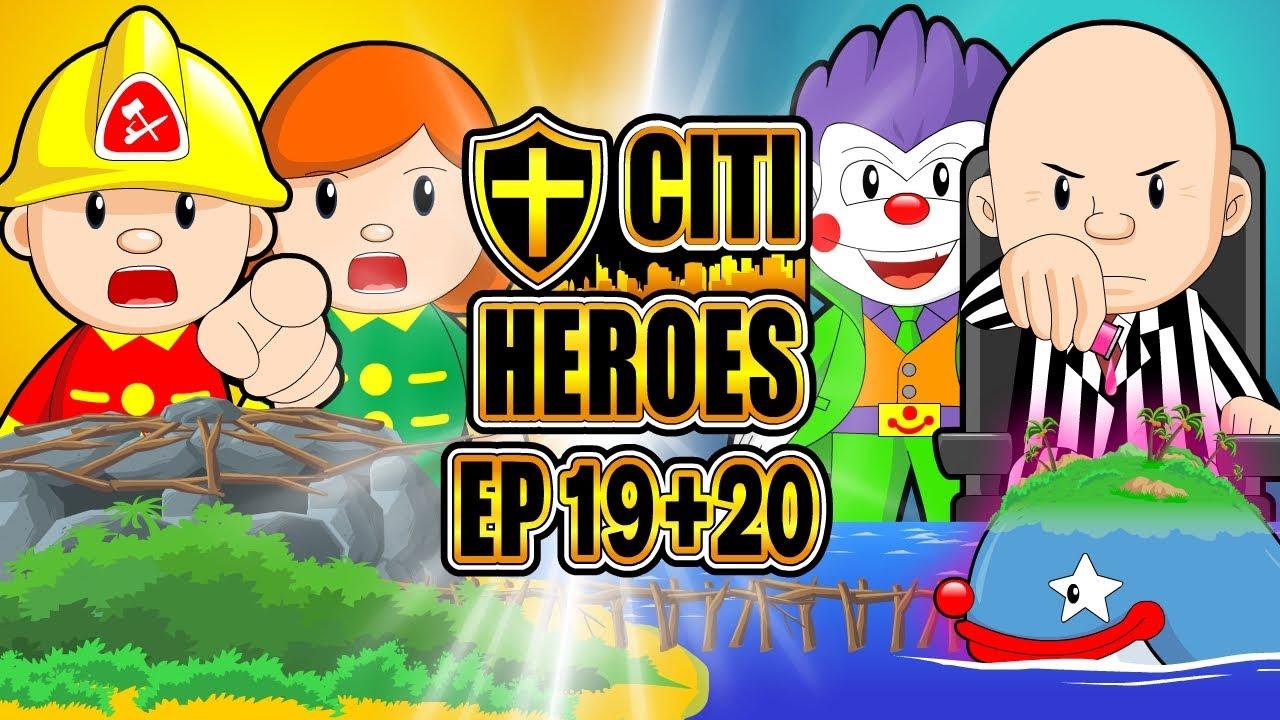 "Citi Heroes EP19+20 ""New Base"""