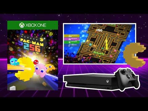 PAC MAN 256 - 4 Player Gameplay - Xbox One X