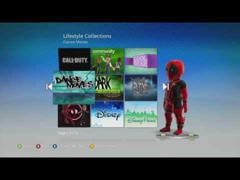 Deadpool Xbox Live Marketplace Avatar Items