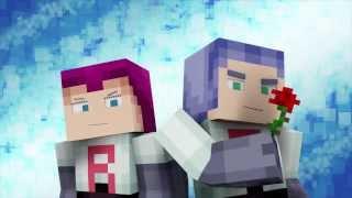 """Hostile Mobs"" A Minecraft Pokemon Animation - 1 Hour Edition! LYRICS"