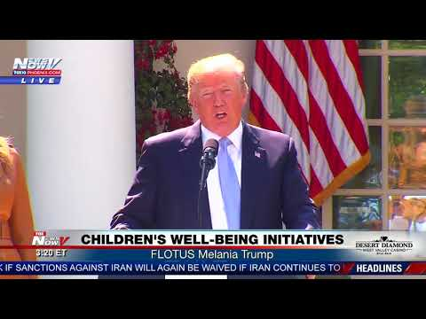 BE BEST PROCLAMATION: President Trump signs FLOTUS' awareness campaign for kids (FNN)