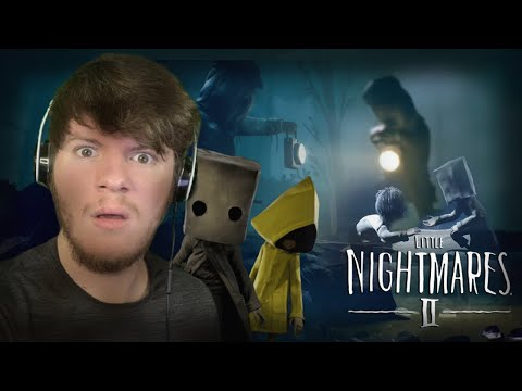 THIS GAME IS A NIGHTMARE!!! | LITTLE NIGHTMARES 2 (PART 1)