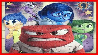 INSIDE OUT Jigsaw Puzzle games for kids - Joy, Sadness, Anger, Disgust, Fear インサイドヘッド パズル