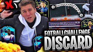 Den ULTIMATE DISCARD CHALLENGE med FOTBALL UTFORDRINGER 👀💥 **risikerer mitt superlag**