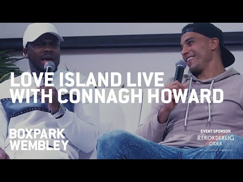 Connagh 'with G' Howard Talks Love Island With Sideman At BOXPARK Wembley