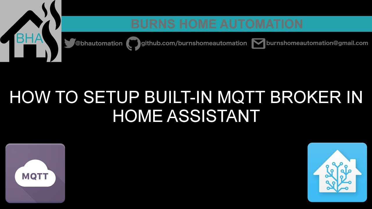 How to setup built-in mqtt broker in Home Assistant