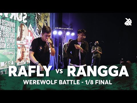 RAFLY vs RANGGA | Werewolf Beatbox Championship 2018 | 1/8 Final