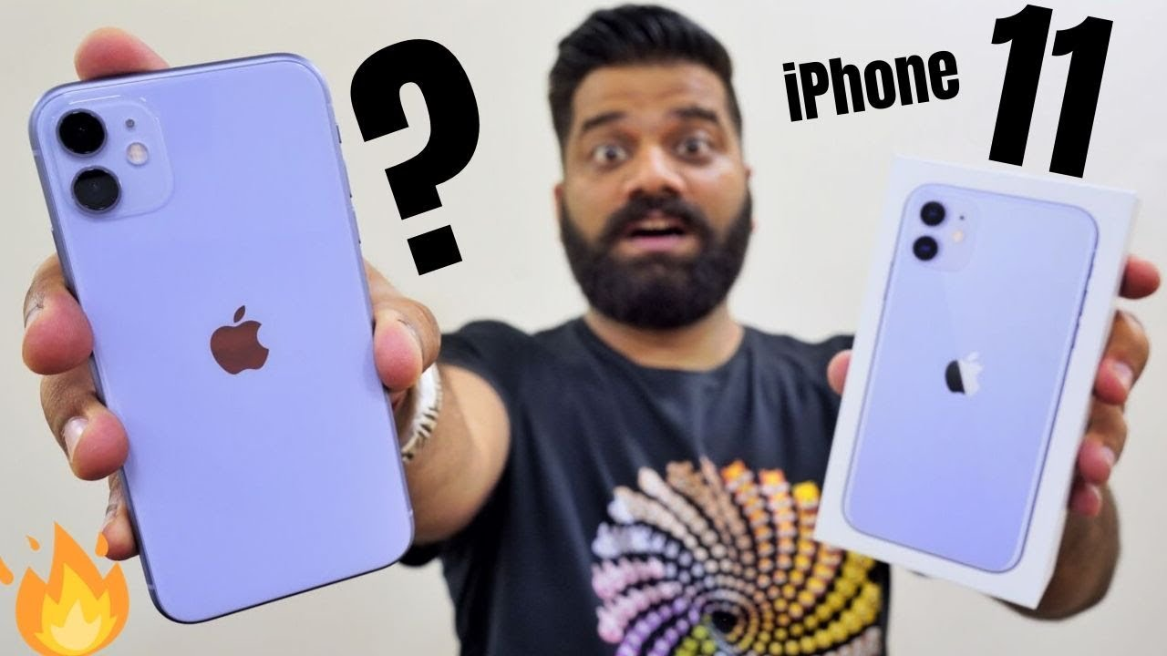 iPhone 11 Unboxing & First Look -  A Solid Champ?????????????
