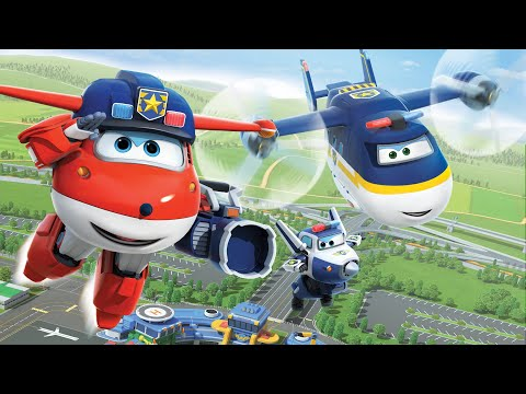 [Superwings s3 team episodes] Police Team | Police car | Pol