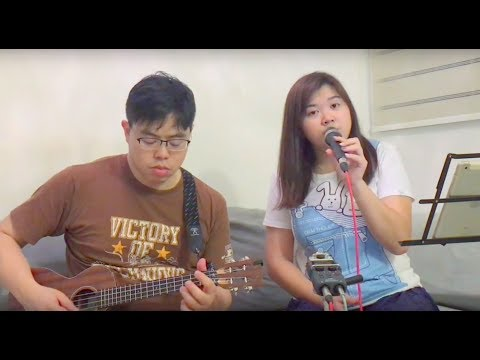 【Fake A Smile】(電影《29+1》主題曲)鄭欣宜+李拾壹 - Ukulele Covered by Shannon Lau and Exppa