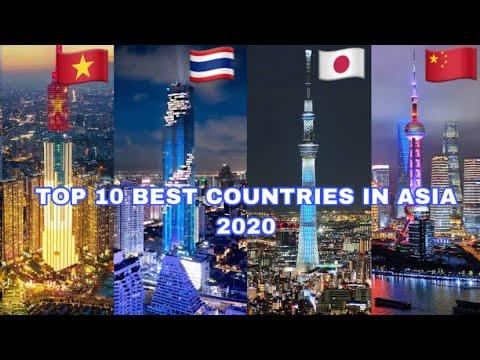 10 อันดับประเทศที่ดีที่สุดในเอเชีย 2020 TOP 10 Best Countries in Asia 2020