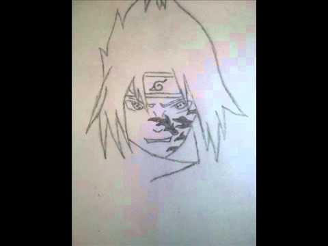 How To Draw Sasuke Using Chidori