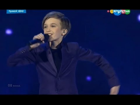 Миша Смирнов выступление   Детское Евровидение 2015   Россия