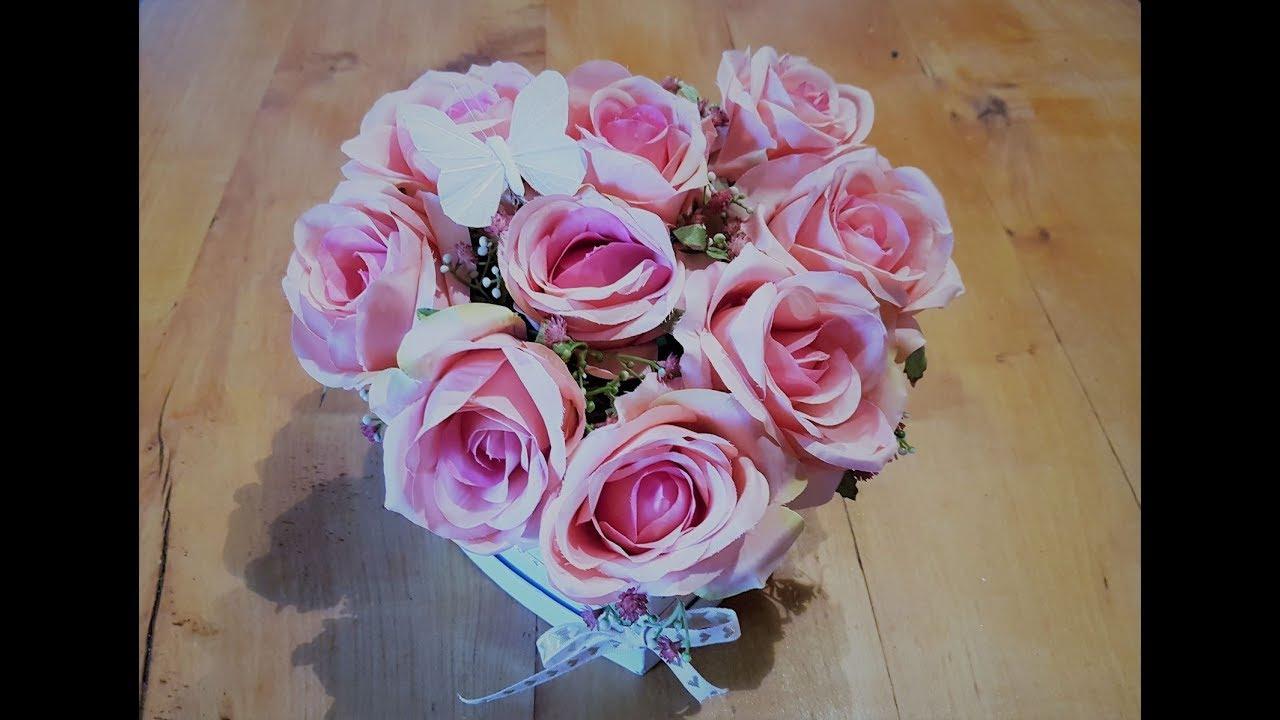 Diy Rosen Box Selber Machen Valentinstag Geschenkidee 2019 Youtube