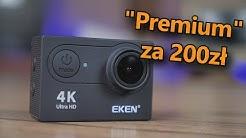 """Eken H9R - lekka kamerka """"4K' za 200zł"""