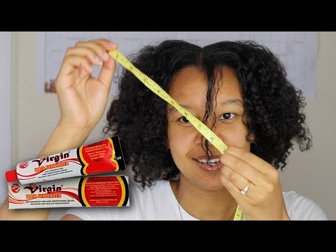 Results After 5 Days Virgin Hair Fertilizer For Fast Hair Growth Challenge
