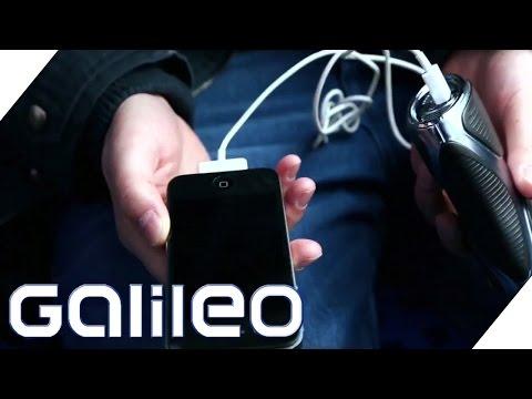 Mit dem Feuerzeug das Handy aufladen? Der Produktcheck | Galileo | ProSieben