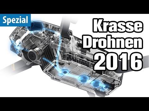 Die krassesten Drohnen 2016 | deutsch / german