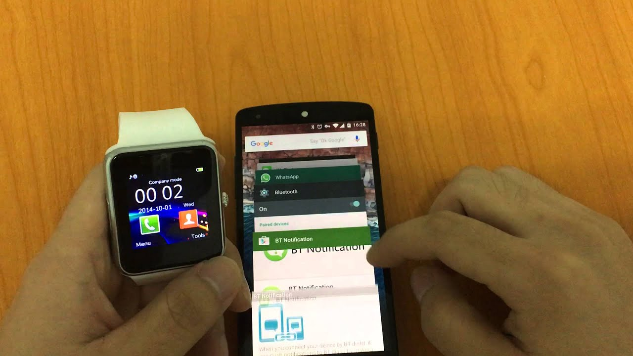 how to install bt notifier on watch