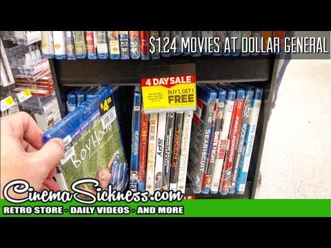 $1.24 Movies At Dollar General